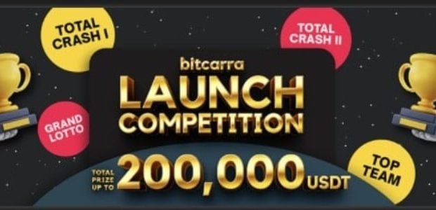 Bitcarra: Launch Competition with up to 200,000 USDT prize pool